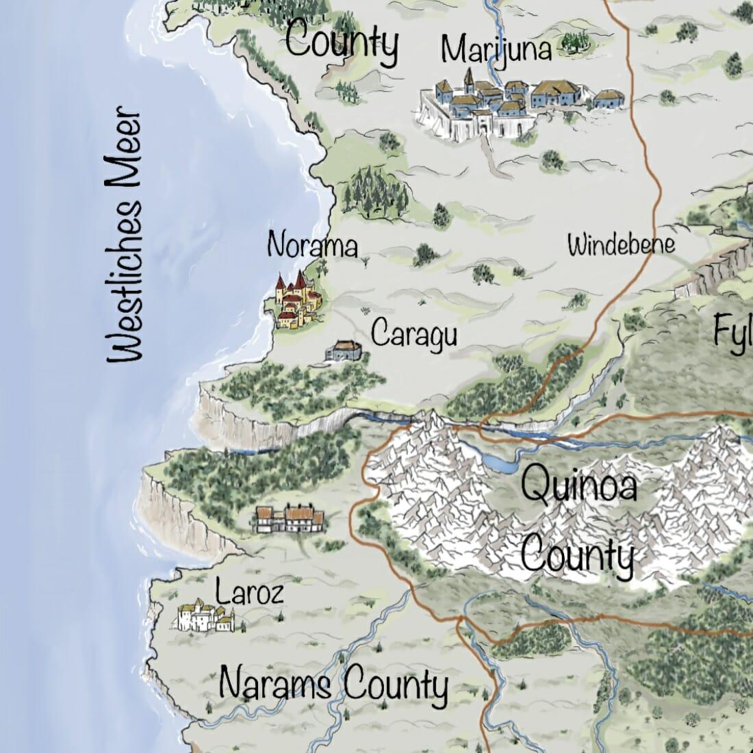 Kartenausschnitt Naturgewalten - aktuelle Informationen